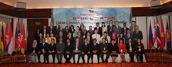 The  First Session of the ASEAN Community Statistical System Committee