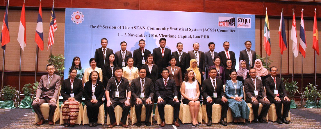 The Sixth Session of the ASEAN Community Statistical System (ACSS) Committee