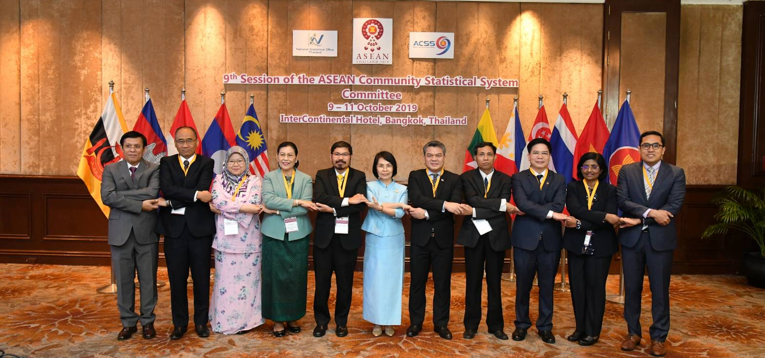 The Ninth Session of the ASEAN Community Statistical System Committee