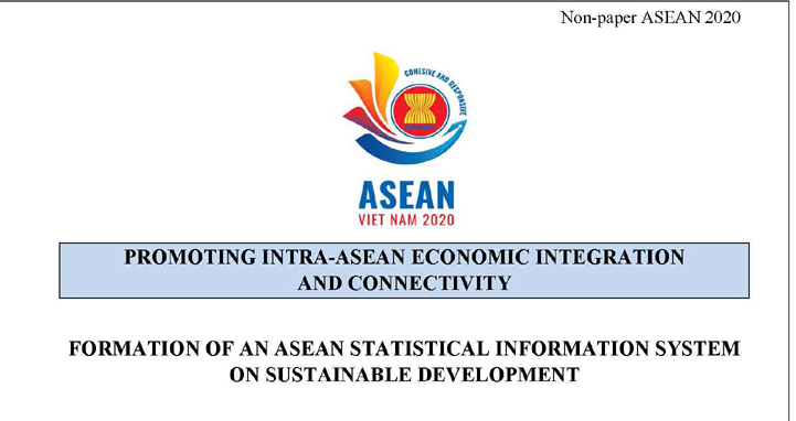"The initiative ""Formation of an ASEAN statistical information system on sustainable development"" proposed by Vietnam General Statistics Office and achievements in 2020"